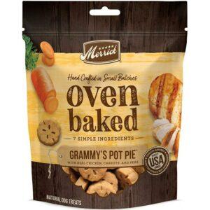 Merrick Oven Baked Grammys Pot Pie Natural Dog Treats